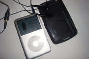 Silver Ipod Classic used160gb 6th Generation $220