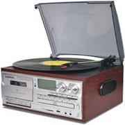 3 Speed Bluetooth Vinyl Record Player